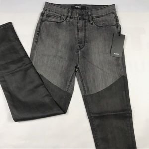 Hudson Jeans NEW Womens Black High Rise Skinny 27